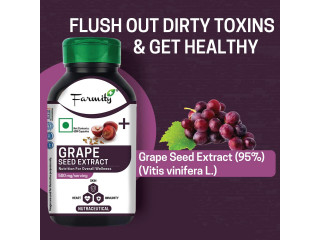 How To Use Of . Grapes Seed Extract Capsules For Your Skin & Hair