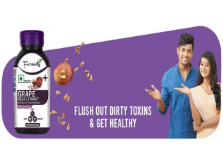 Buy Grape Seed Capsule  For  Your Oily Skin Care - Heebs